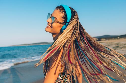ideas para peinados de playa