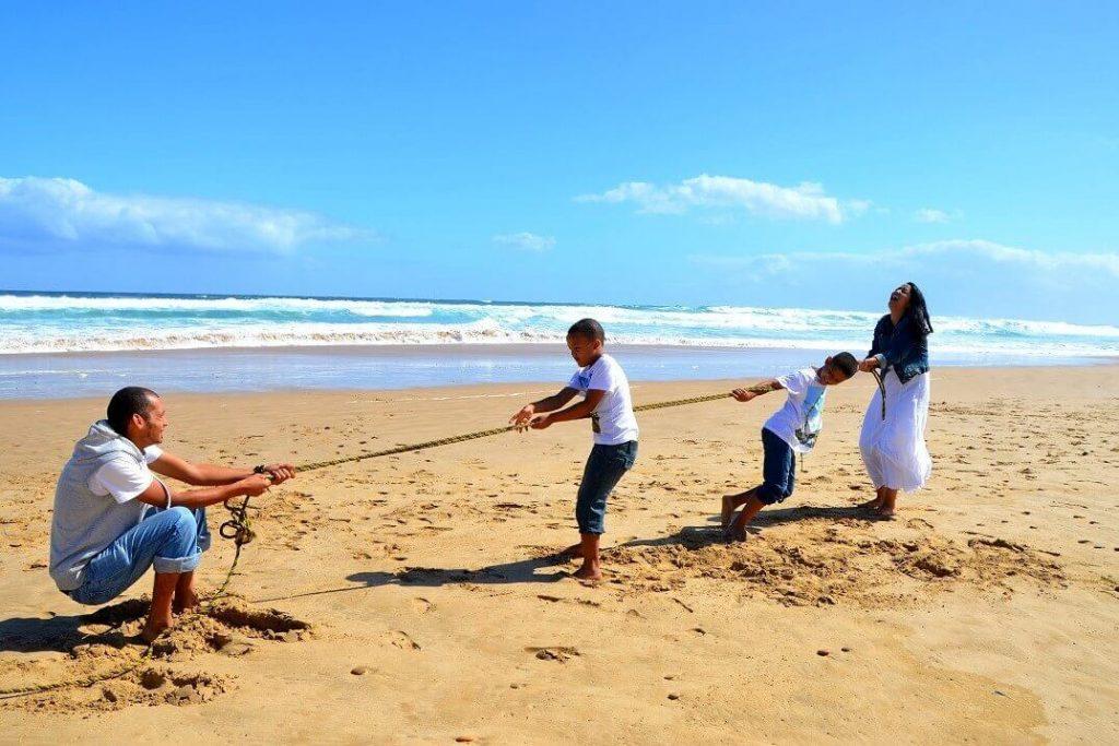 mejores playas niños