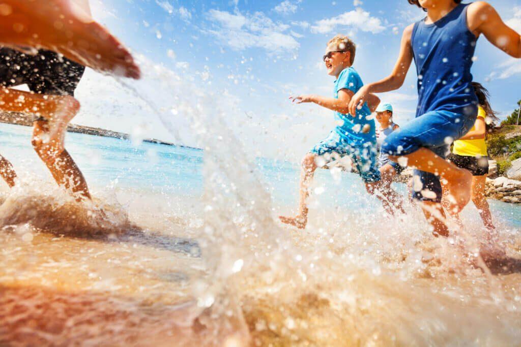 playa de niños