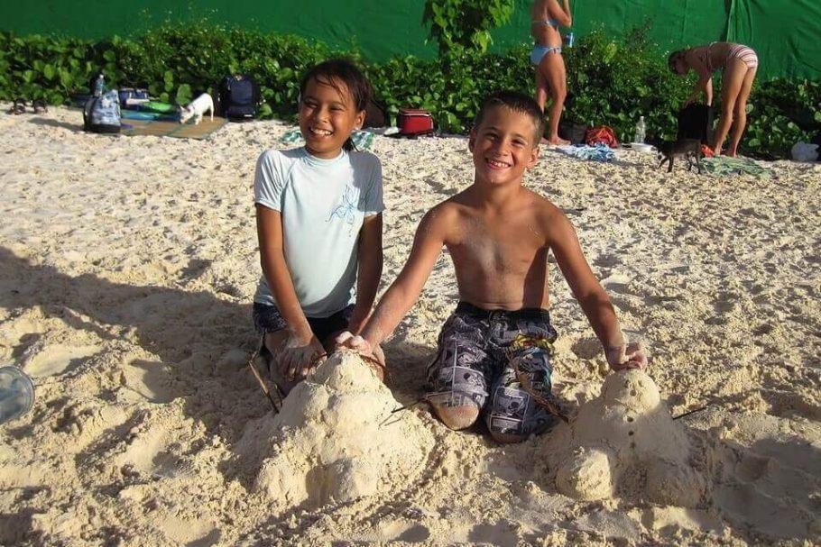 mejores playas para niños