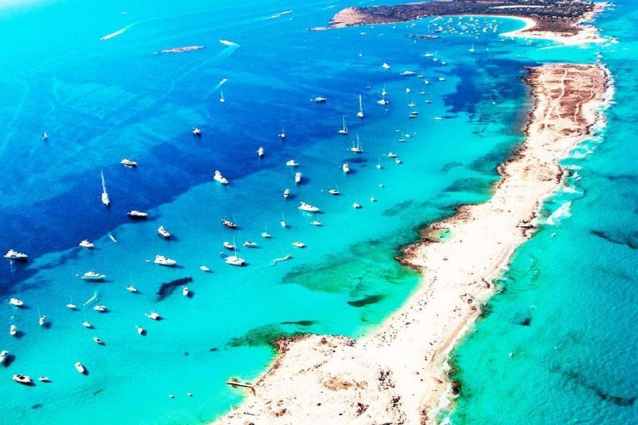 playas de ibiza españa fotos