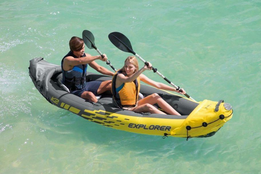 kayak inflable para pesca
