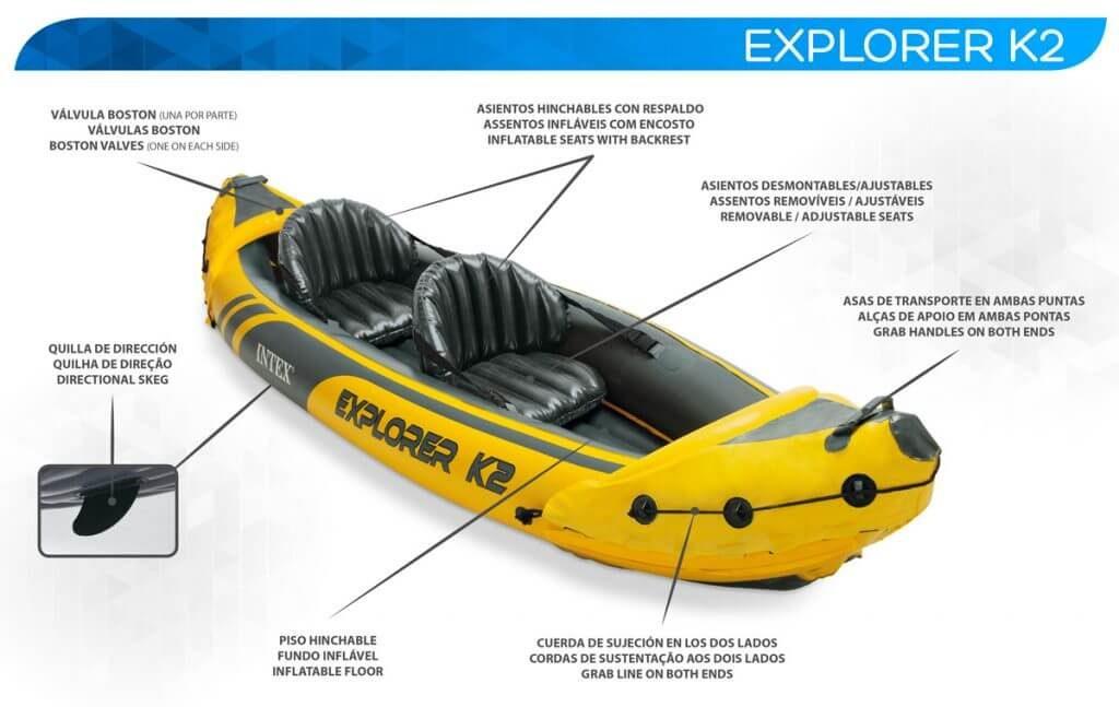 oferta kayak hinchable