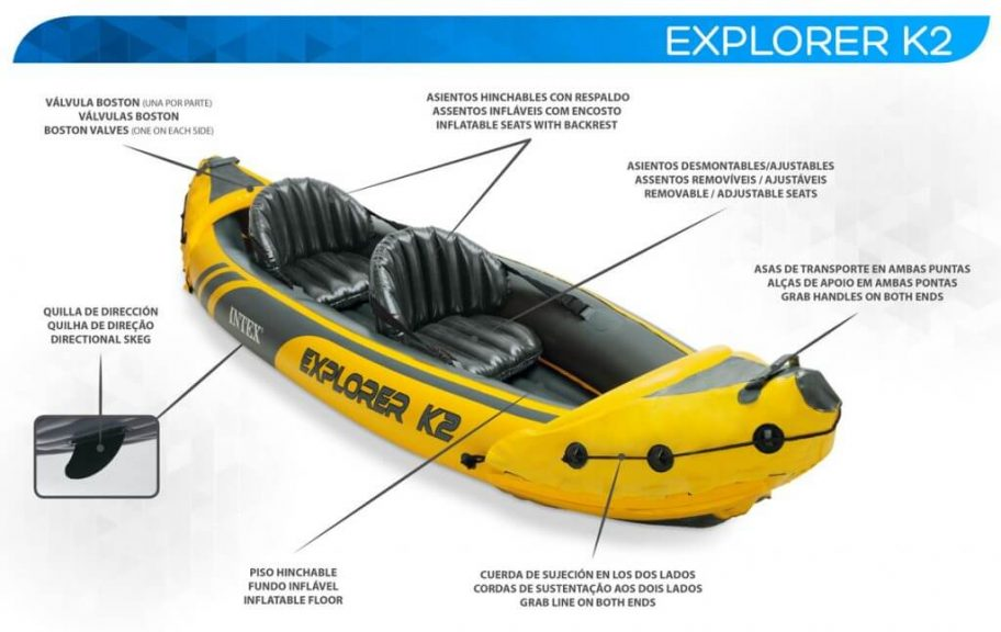 oferta kayak hinchable